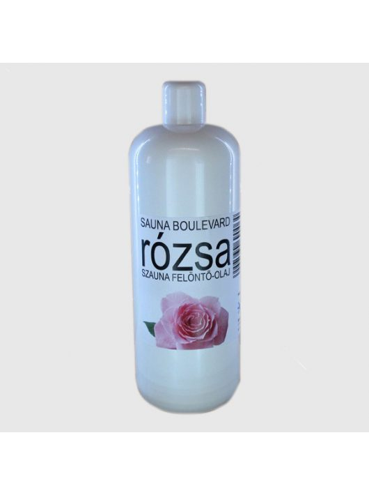 Rózsa szauna illatanyag 1000 ml - Aura Hidromasszázs Stúdió Veszprém
